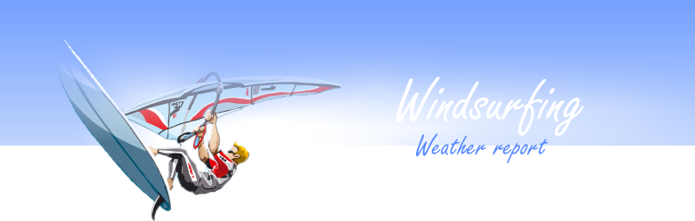 Windsurfing. Weather report